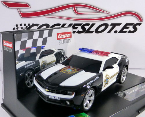 EVOLUTION CHEVROLET CAMARO ''SHERIFF'' REF.20027523 CARRERA