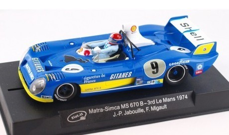 Matra-Simca MS 670B N.9 LE MANS 1974 REF.CA27B SLOT.IT