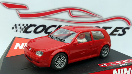 VW GOLF GTI ROADCAR RED REF.50247 NINCO