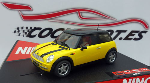 MINI COOPER YELLOW REF.50277 NINCO