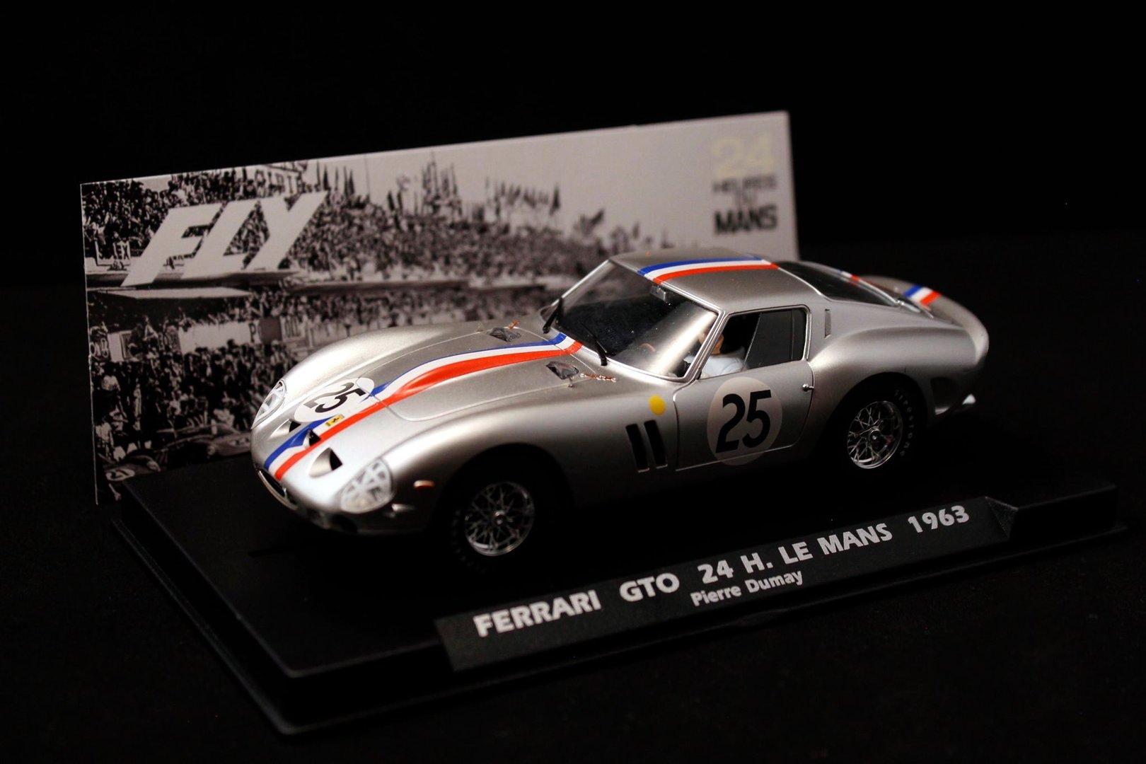 Ferrari 250 Gto Gris Le Mans 1963 Ref A2019 Fly