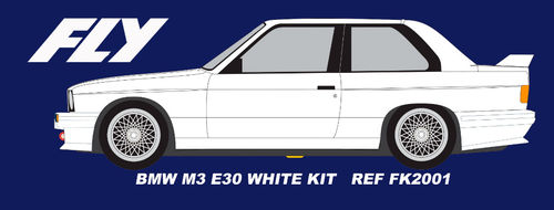BMW M3 E30 WHITE KIT REF.FK2001 FLY