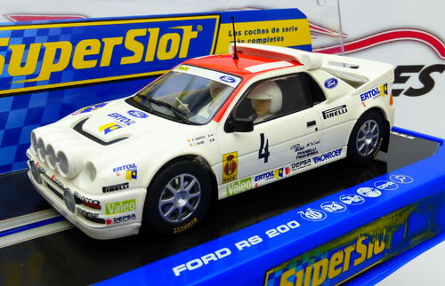 FORD RS 200 Nº4 REF. H3305 ZANINI SUPERSLOT