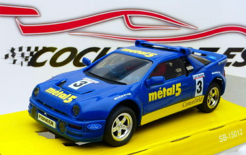 FORD RS 200 METAL 5 CON LUCES REF.8342 EXIN