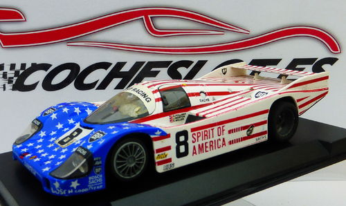 PORSCHE 956  BANDERA AMERICANA SLOT.IT
