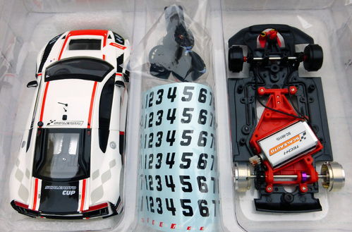 AUDI LMS GT3 CUP 2017 WHITE/RED REF.SC6180a SCALEAUTO